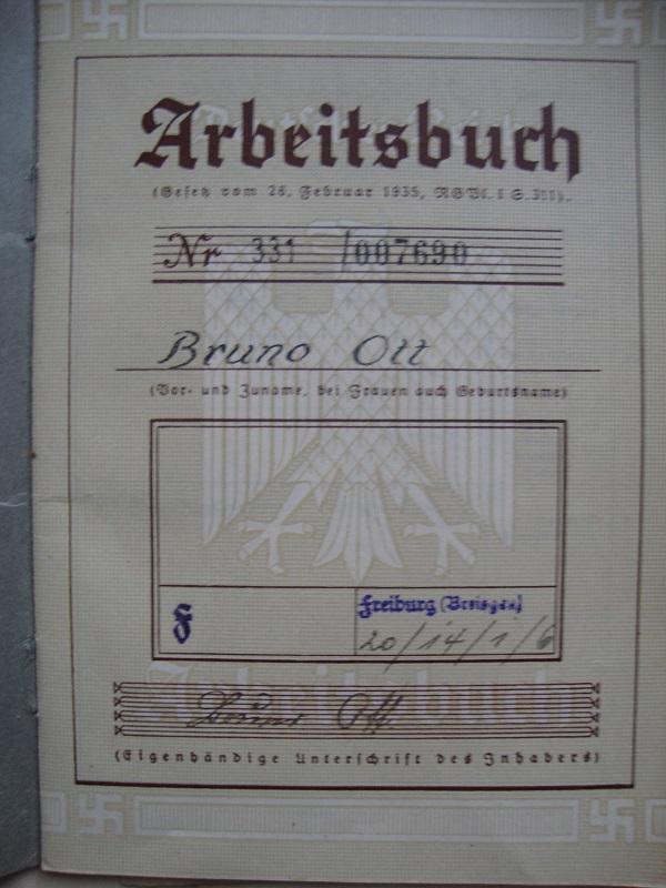 Vos livrets militaires allemands WWII (Soldbuch, Wehrpass..) / Heer-LW-KM-SS... Njjf