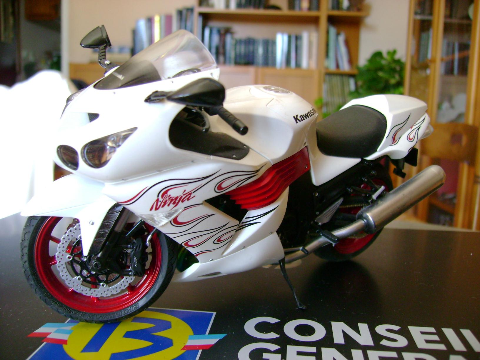Ninja zx-14 special color edition Dsc02346z