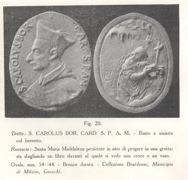 Medalla Santa Maria Magdalena / Escena de la Crufixión - MR(358)(R.M. SXVII-Ot55) 2ig8