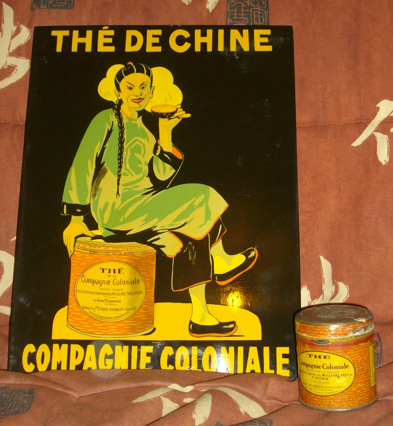 COMPAGNIE COLONIALE Pubccthe