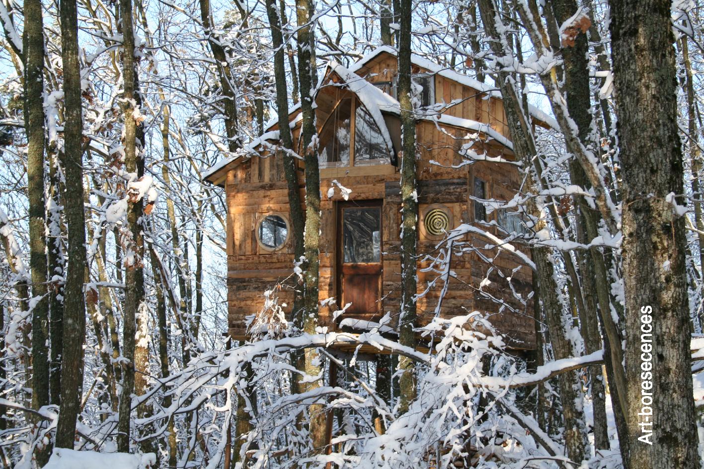 Construire une cabane en bois Cabane127