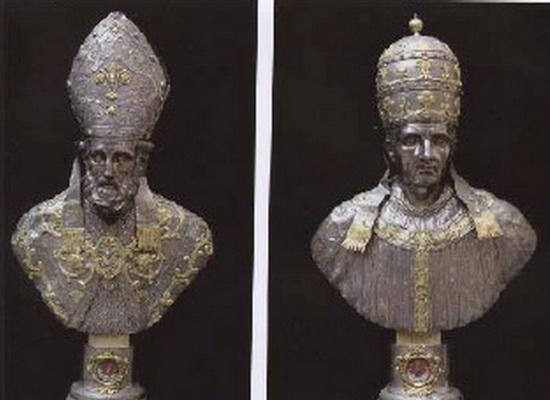 Madonna del Conforto / San Donato de Arezzo y Beato Gregorio X - MR(310) Donatol