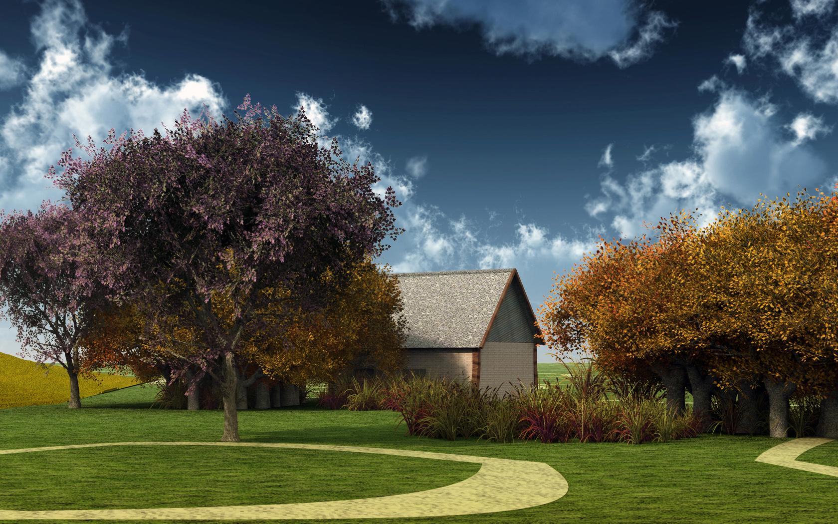 Hình nền mùa thu Autmnwallpaper1680x1050