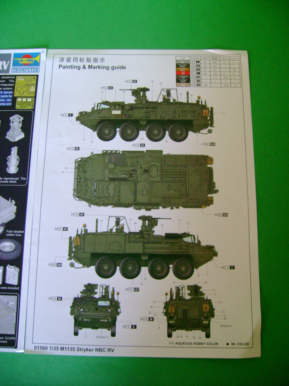 Review Kit Stryker M1135 NBC RV 1/35 Trumpeter... 10389656