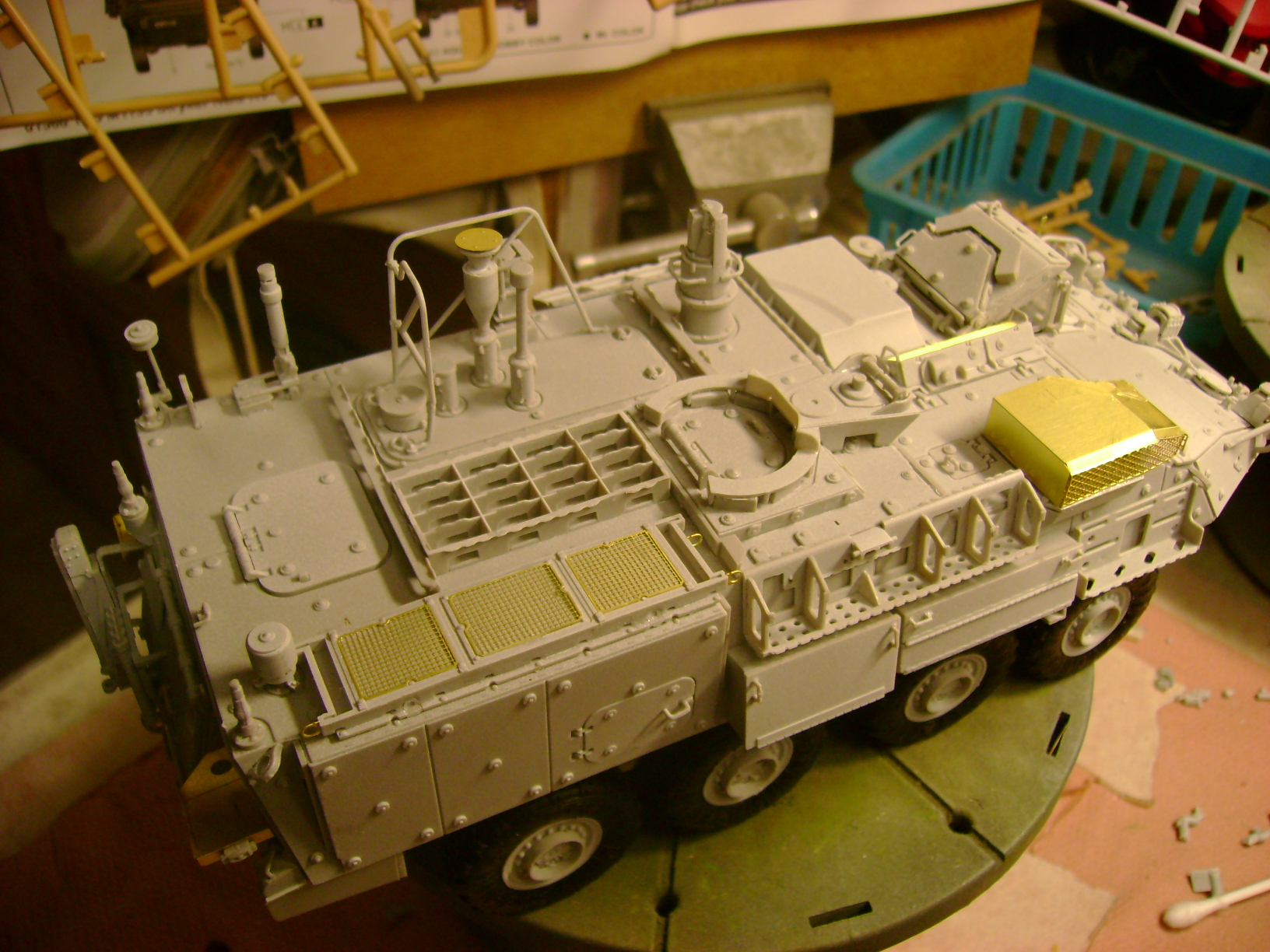 M1135 Stryker NBC RV 1/35 Trumpeter.... Terminé.... 85076201