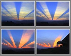 Un mystérieux rayon de lumière apparait au Brésil Rayngnome