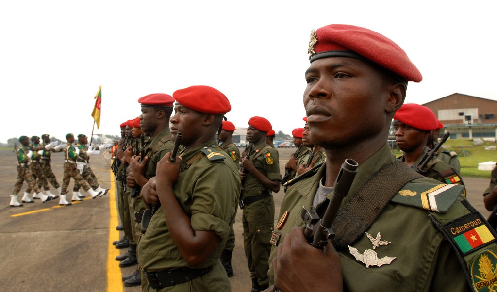 Forces Armées Camerounaises Openingceremonyofcentra