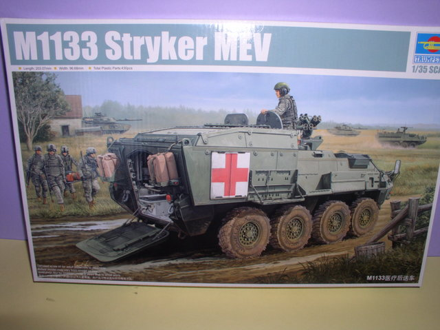 Review Kit Stryker 1133 MEV Trumpeter 1/35 P9160005