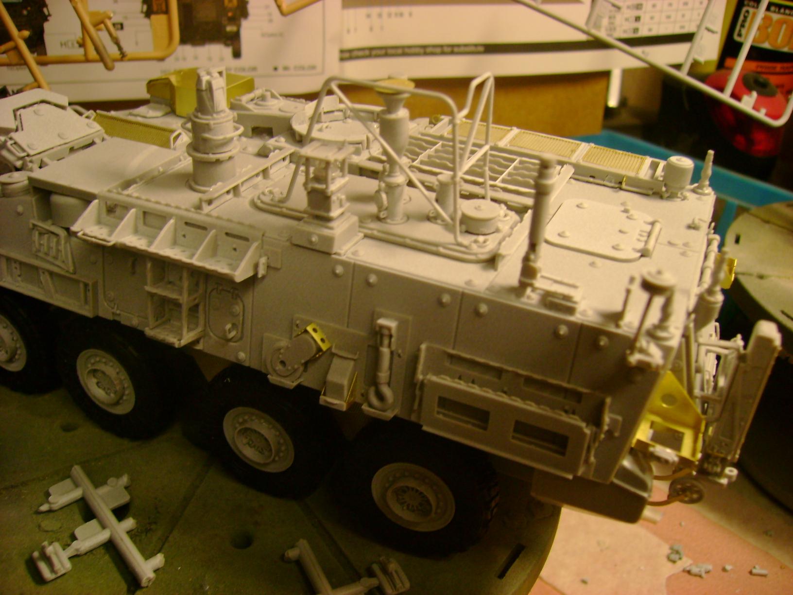 M1135 Stryker NBC RV 1/35 Trumpeter.... Terminé.... 71148512