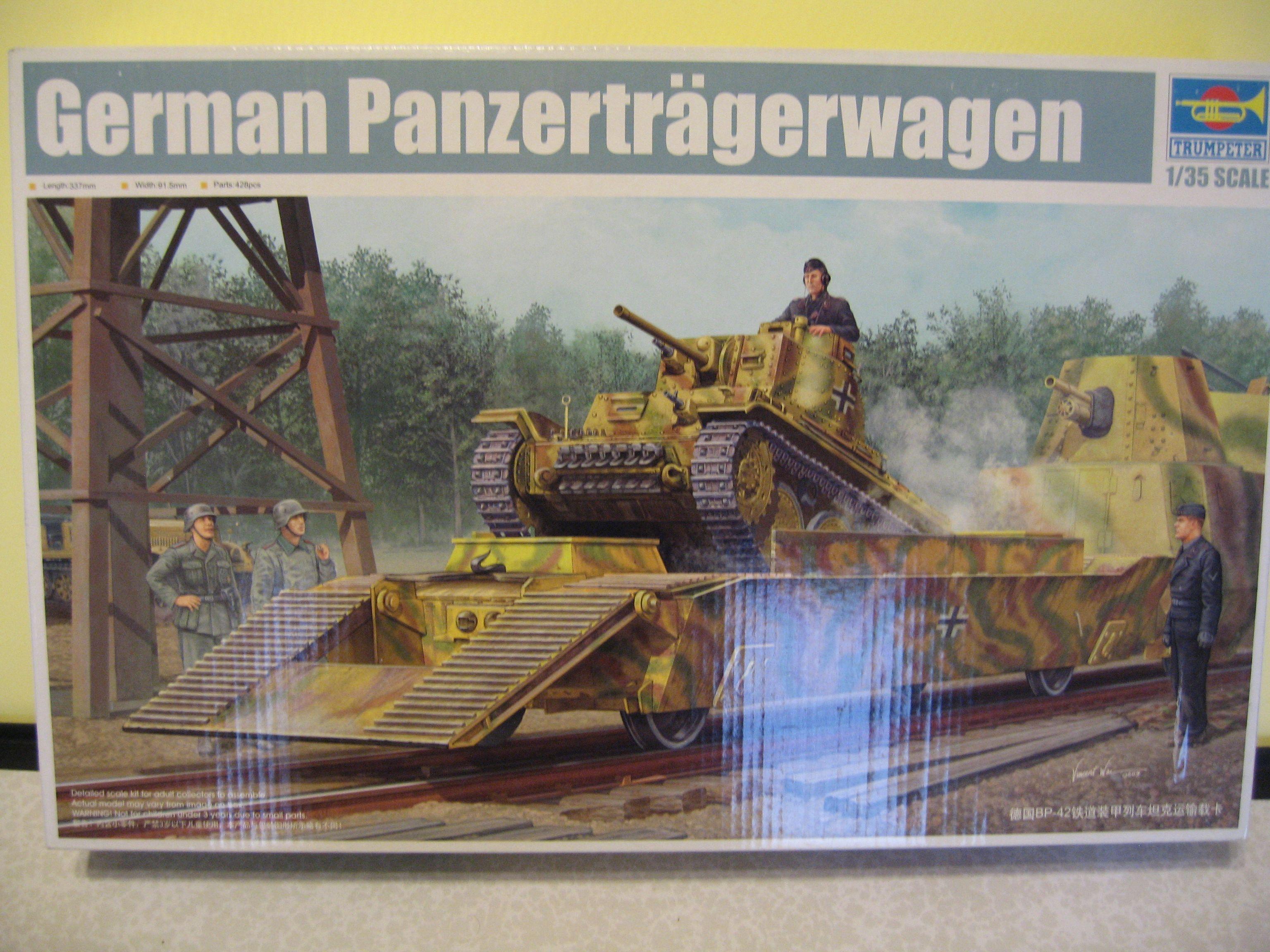 Review kit German Panzertragerwagen . 1/35 Trumpeter Img3686z