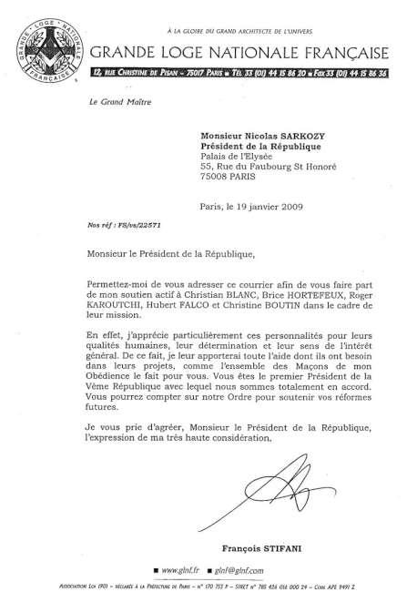 Le lien entre Sarkozy et la Franc-Maçonnerie révélé au grand jour Logesarko1650