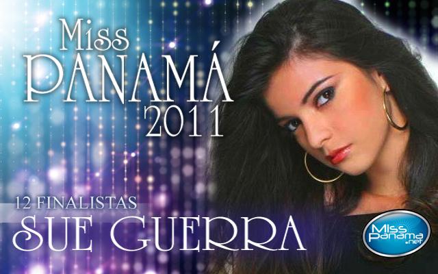 Miss Panamá 2011 Bannersue