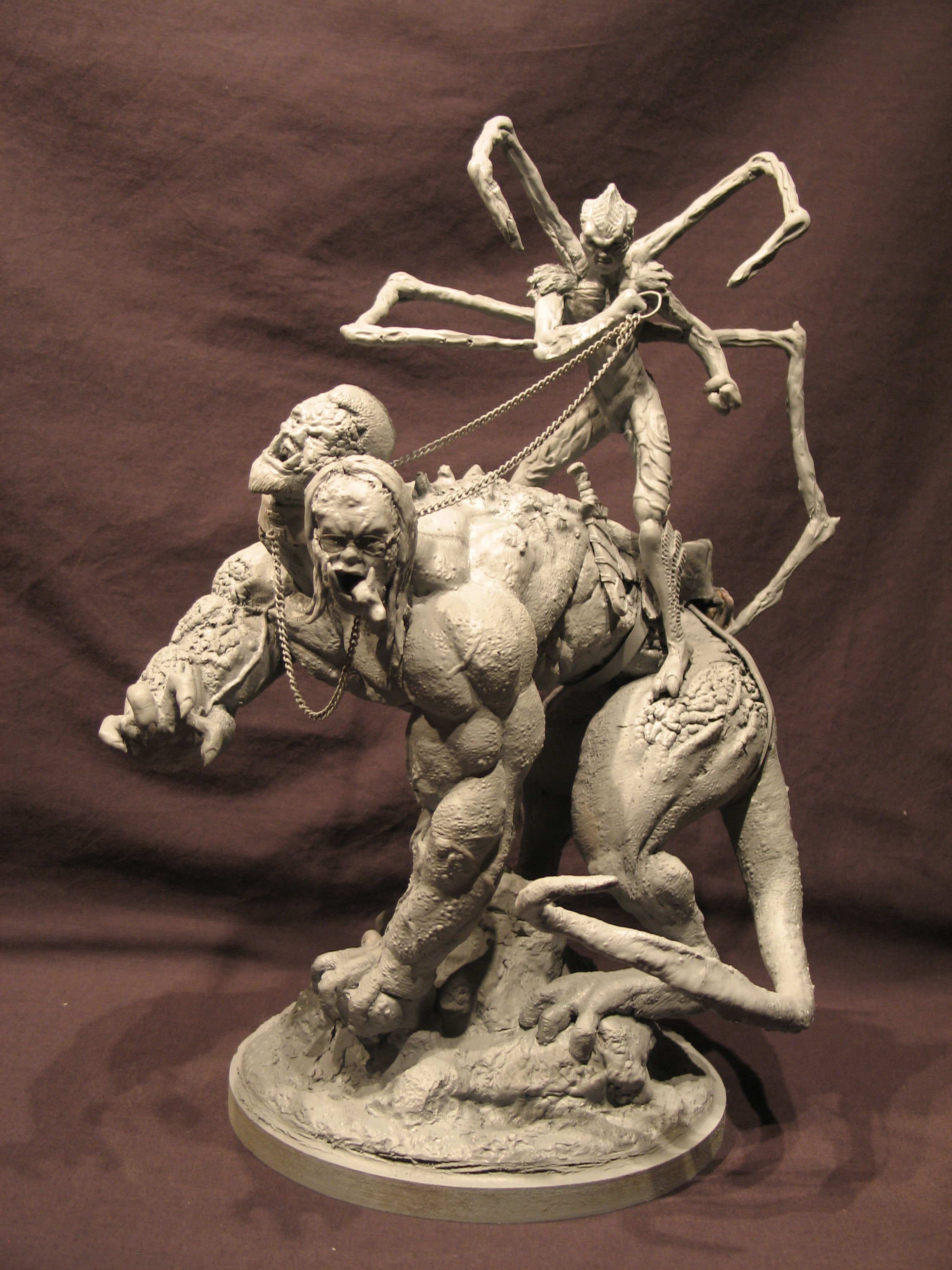 Spiderzero Riding the Shiflett Monster (Concours Shiflett 2) S153a