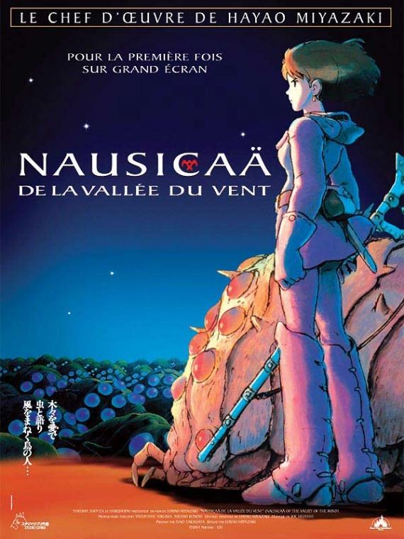 Nausicaä de la Vallée du Vent Im1523affichedufilmnaus
