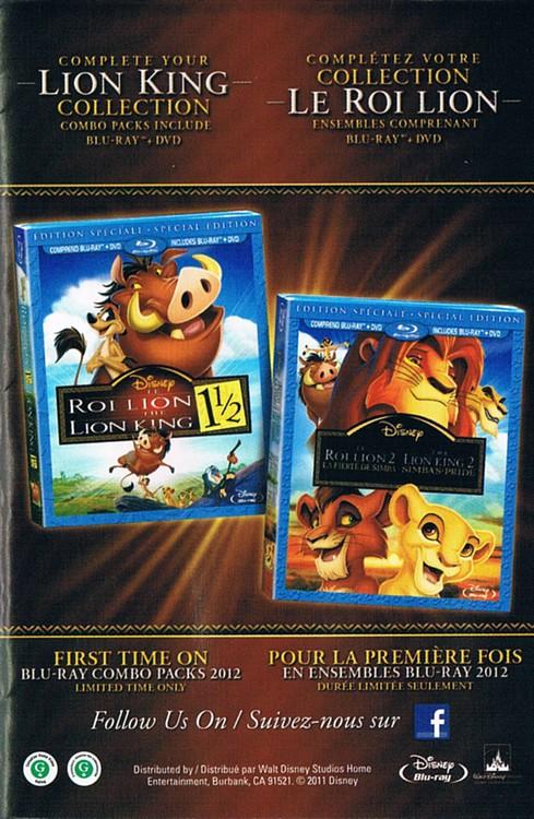 [BD + DVD] Le roi lion 2 et 3 (Novembre 2011) - Page 2 Ccf2011110400001