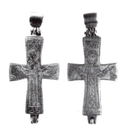 ENCOLPIO bizantino. S. X. ( F.S.V. CR-01) Cobmf
