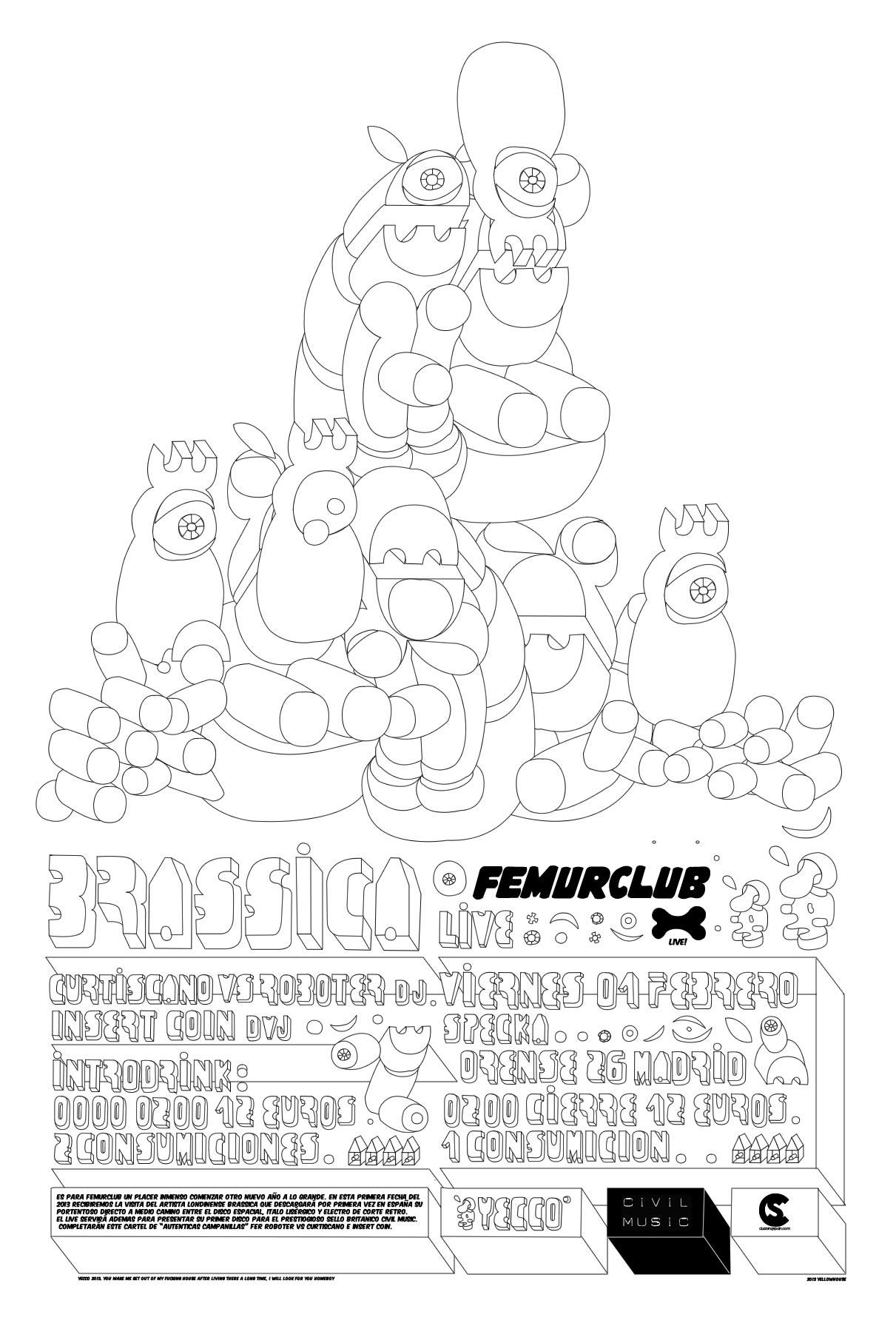 BRASSICA LIVE FEMURCLUB 01.02.2013 Brassicalong