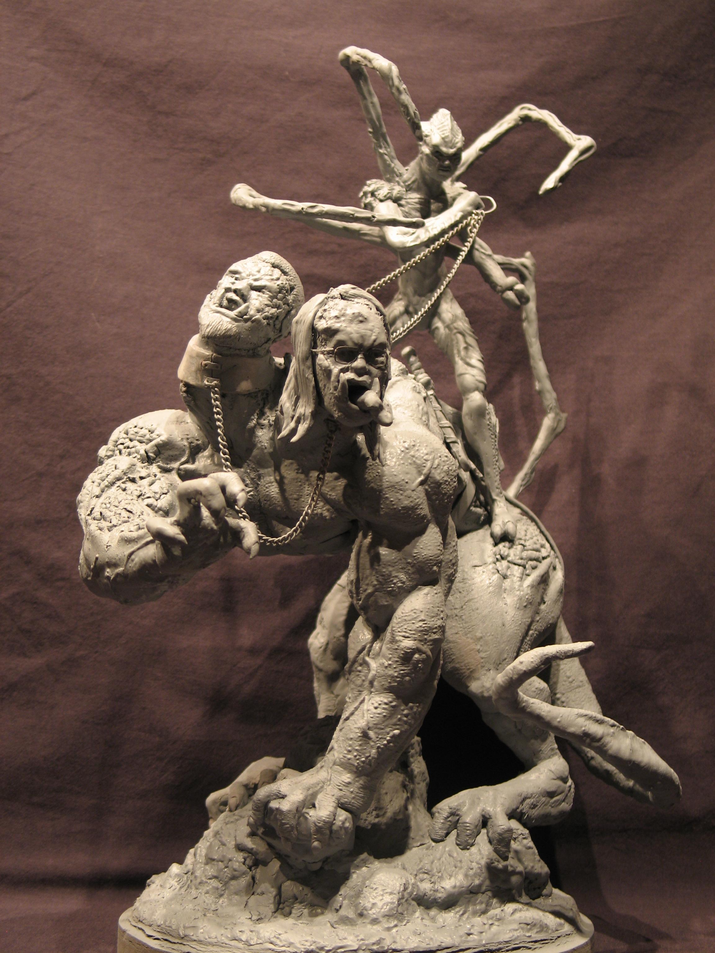 Spiderzero Riding the Shiflett Monster (Concours Shiflett 2) S134d