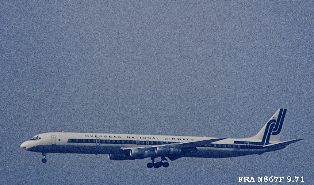 DC-8 in FRA - Page 3 N867f