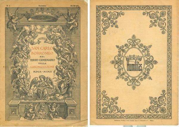 S. Carlos Borromeo / Humilitas  S. XVII (R.M.SXVII-C43) (R.M. SXVII-C103) Scborromeon1