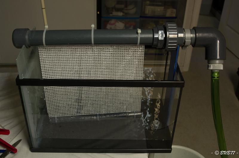 DIY - Fabrication d'un ATS Algae Turf Scrubber Ruxh
