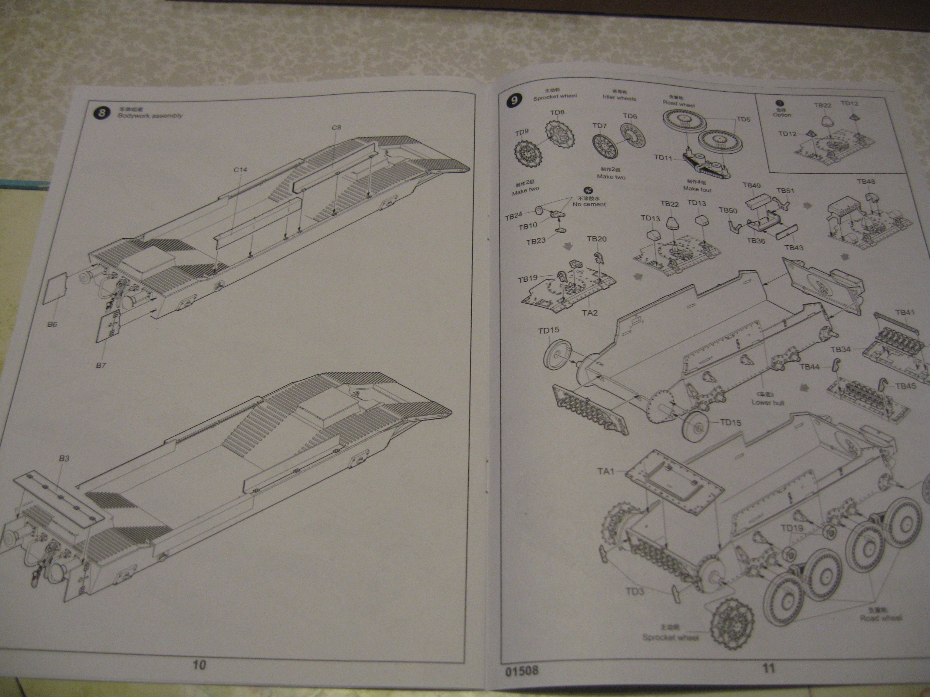 Review kit German Panzertragerwagen . 1/35 Trumpeter Img3692d