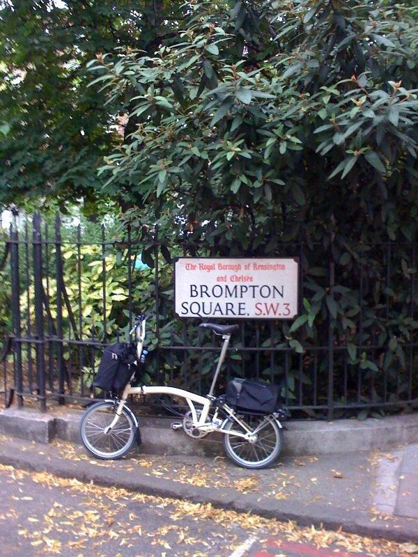 Quartier Brompton à Londres Bromptonsquare
