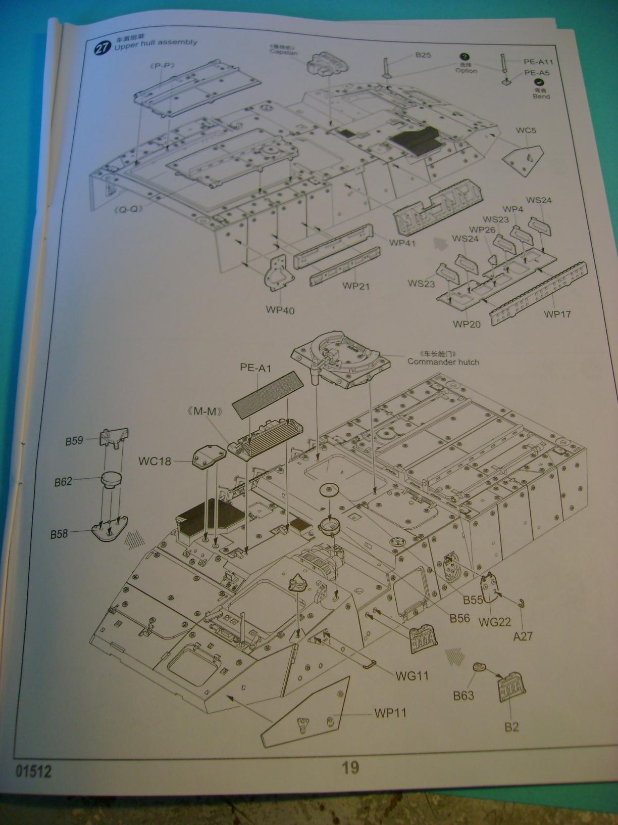 Review Kit M1129 Stryker Mortar Carrier Vehicle MC-B Trumpeter 1/35... Dsc02249al