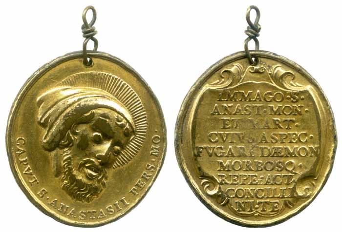 Anastasio - San Anastasio / Inscripción - MR(228) Mr228a