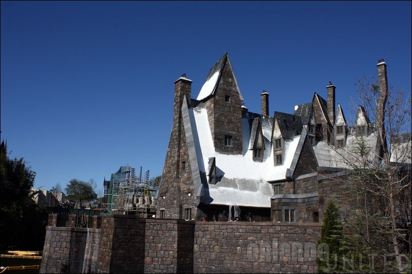 The wizarding world of hp construction pics Img7613