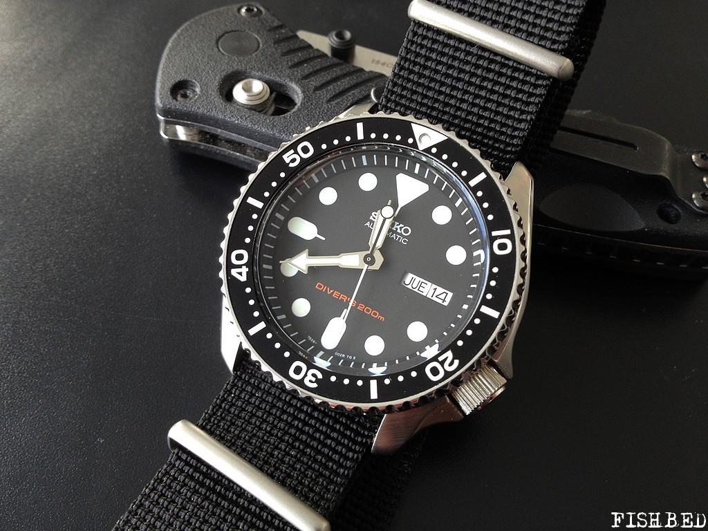 choix difficile  orient  mako  vs seiko  diver's 200 Seikoskx00702