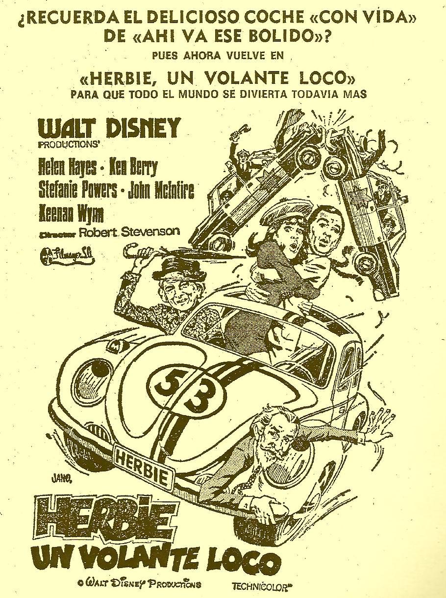 recortes viejos referentes a VW y a los Aircooled's...  1975filmherbieunvolante