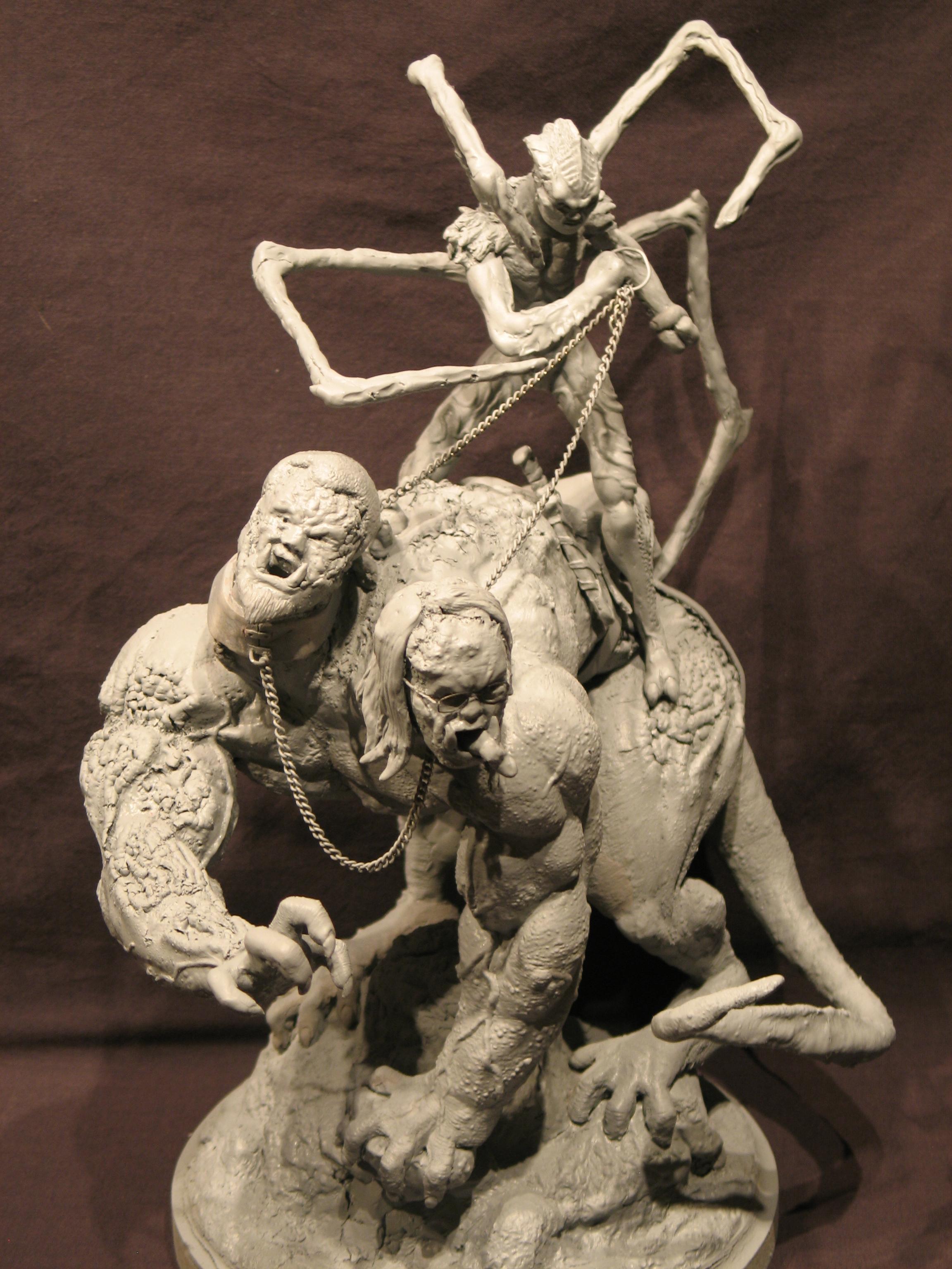Spiderzero Riding the Shiflett Monster (Concours Shiflett 2) S139l