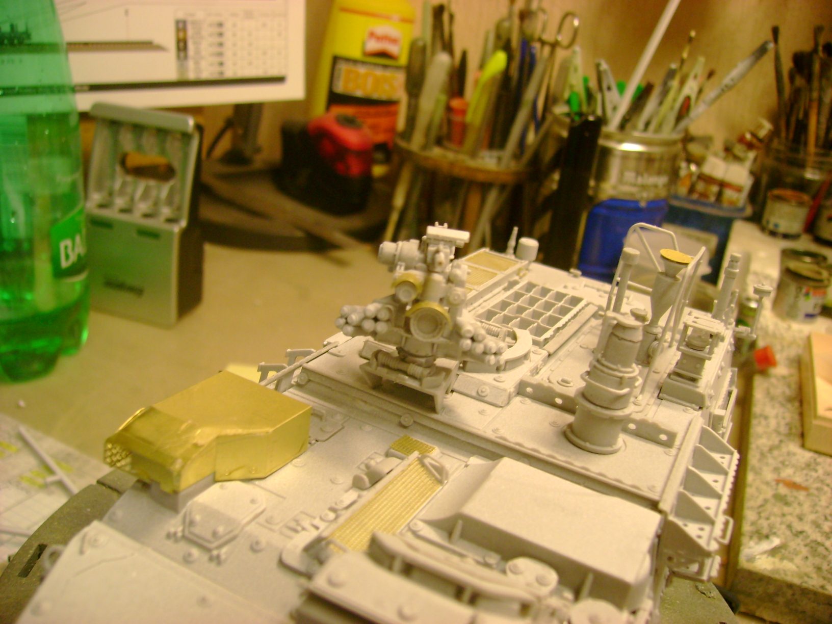 M1135 Stryker NBC RV 1/35 Trumpeter....Terminer Up du 29/10... - Page 2 55402496