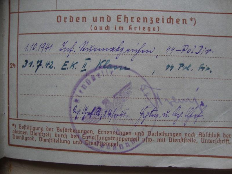 Vos livrets militaires allemands WWII (Soldbuch, Wehrpass..) / Heer-LW-KM-SS... 0h9q