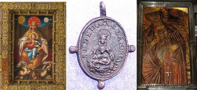 San Felipe Neri  / Madonna della Vallicella,  s. XVII (M) Madonnamiracolia