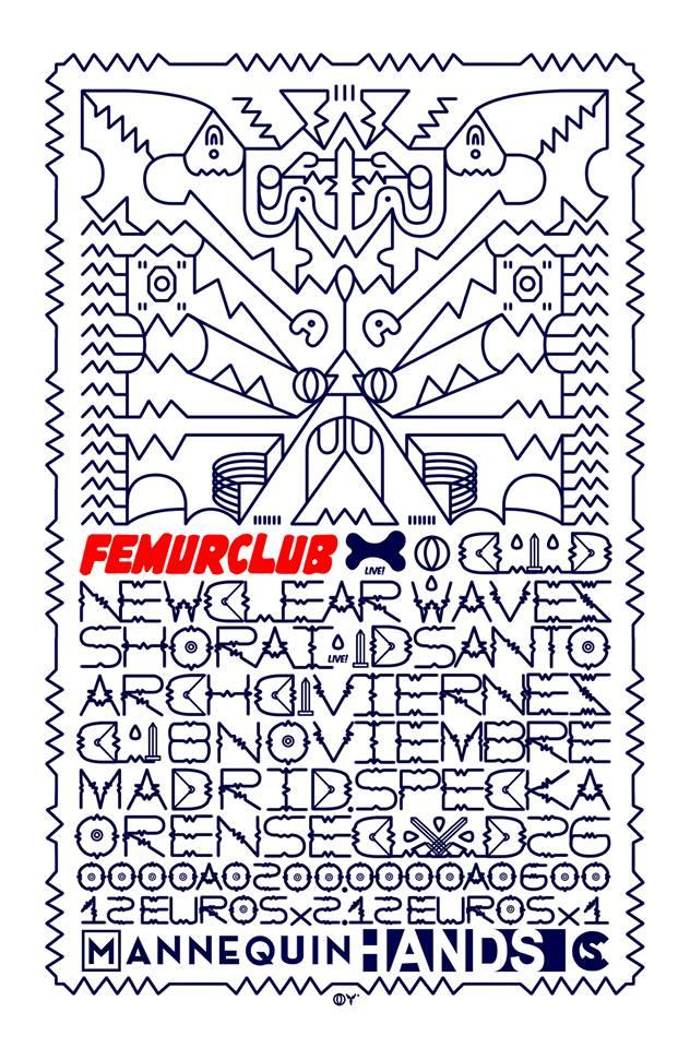 08.11.2013 NEWCLEAR WAVES LIVE + SHORAI LIVE! @ FEMURCLUB Gwth