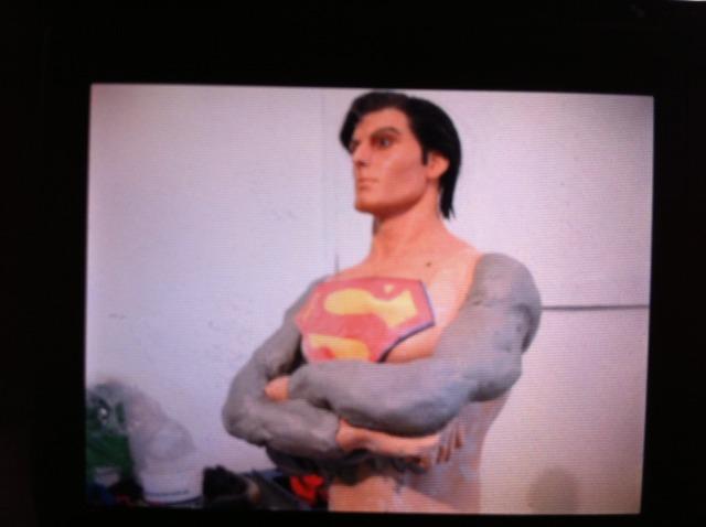 Cinemaquette Superman Transformation Supsarms