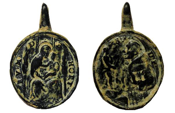 Santa María Dorfen / S. María Altötting (Oethingensis) S.XVIII Virgendehortsanantoniod