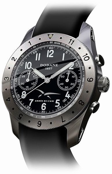 Exclu: MONTRE CHRONOGRAPHE ARMEE DE L'AIR / DODANE 1857 34frontviewaa3bd2