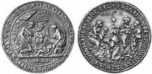 ICONOGRAFIA de la NATIVIDAD en las medallas devocionales Erze