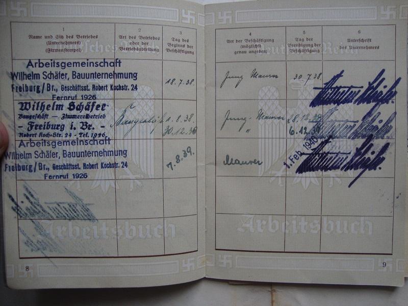 Vos livrets militaires allemands WWII (Soldbuch, Wehrpass..) / Heer-LW-KM-SS... 2bzg