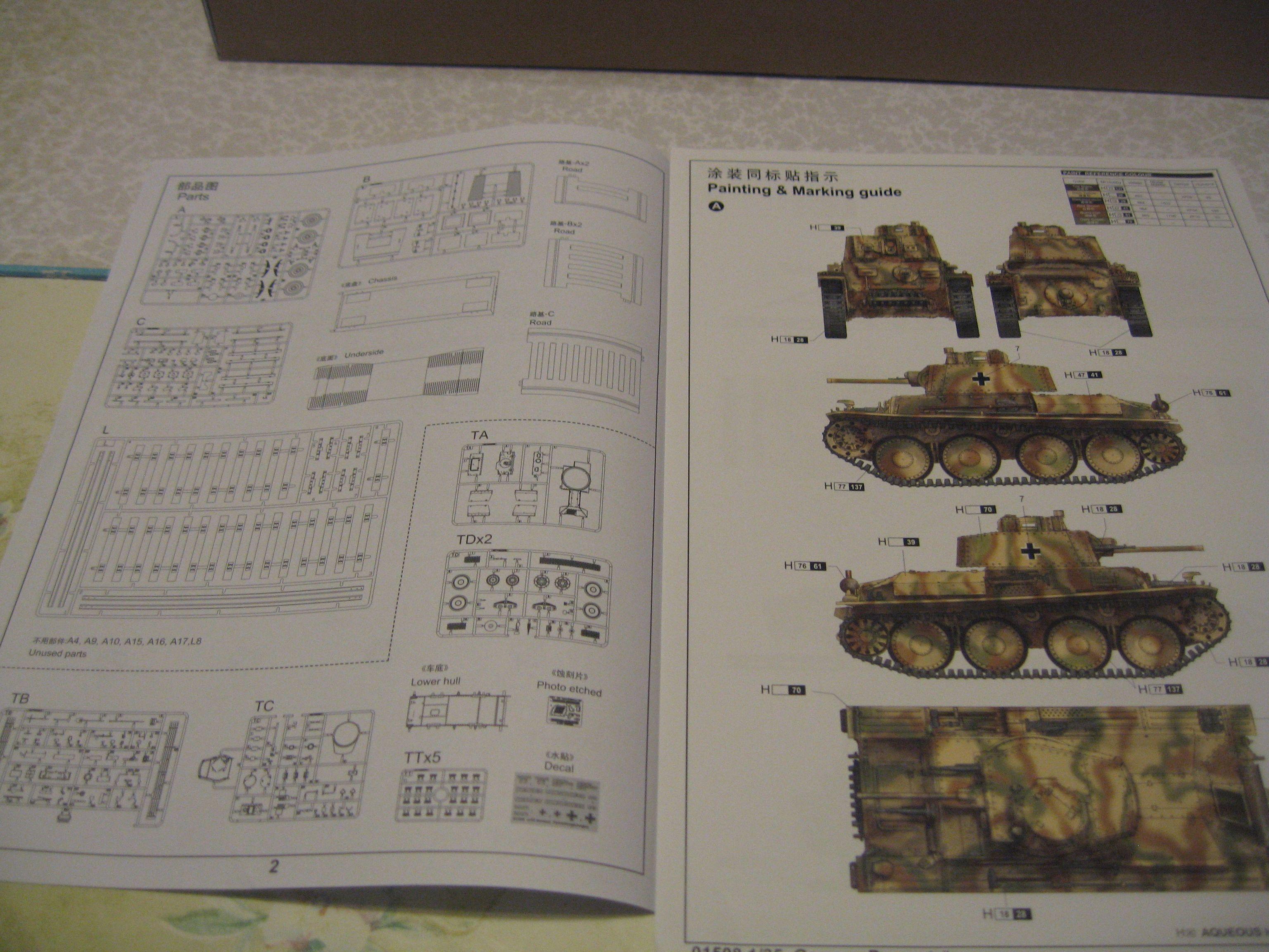 Review kit German Panzertragerwagen . 1/35 Trumpeter Img3688m