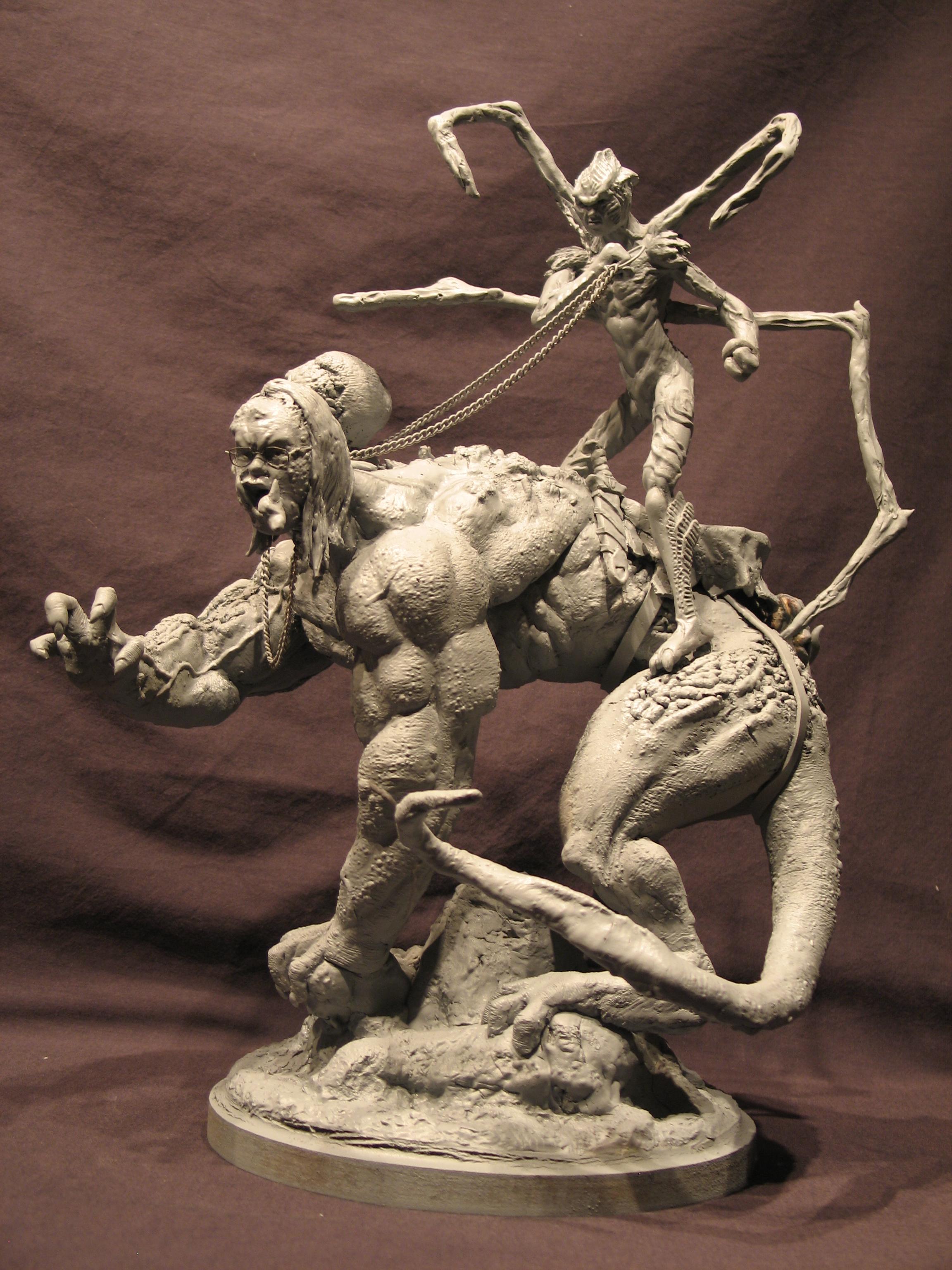 Spiderzero Riding the Shiflett Monster (Concours Shiflett 2) S151
