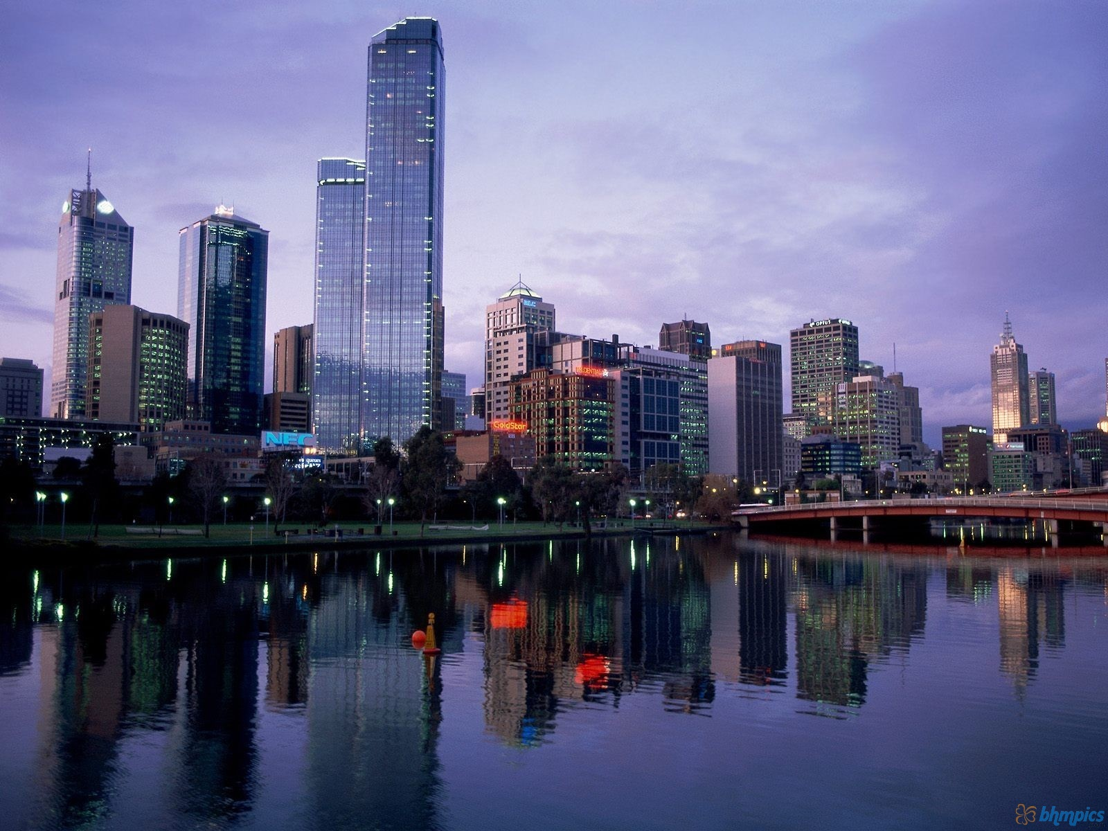 Australia HD Wallpapers Melbournecity1600x1200