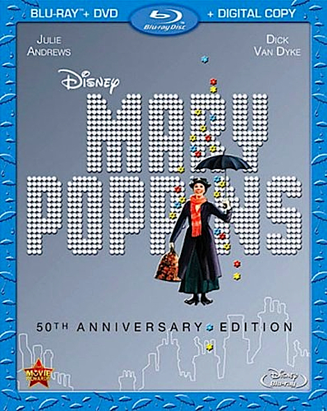 Mary Poppins (1964) Julie Andrews - HD Bluray Rip 1080p anoXmous F8fk