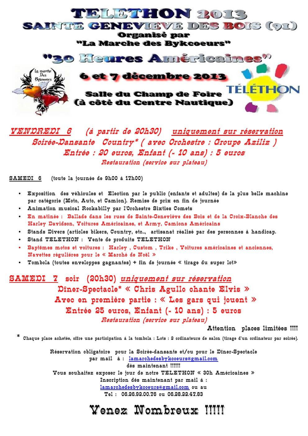Téléthon 6 et 7 décembre 2013 St Geneviève des Bois (91) Yj4k
