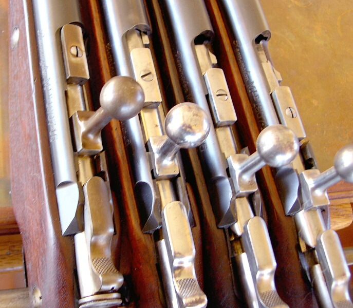 Nombre de fusils 1907-15 et M16 produits Remb9