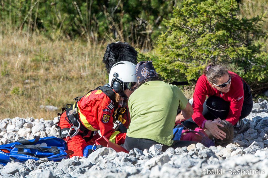 290 - Misiune de salvare in Piatra Craiului Ko5EGb