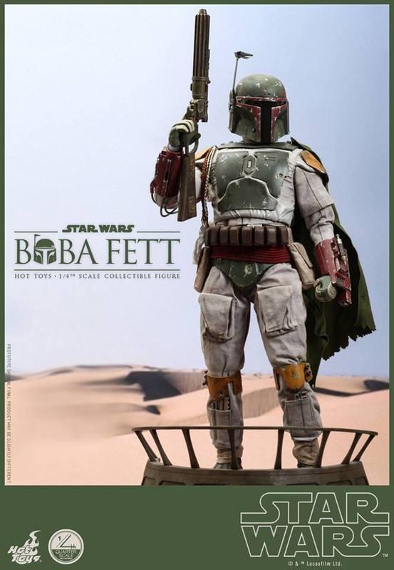 Hot Toys Star Wars - Boba Fett 1/4th Scale figure Lut93j